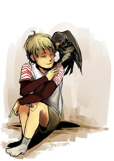 Jace and His falcon    Taken from this amazing artist: http://aegisdea.tumblr.com/post/85245061161/little-jace-and-his-falcon-17-days-til-cohf