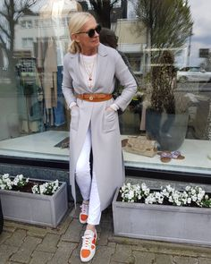 Best Fashion Tips For Women Over 60 - Fashion Trends Over 50 Womens Fashion, Fashion Tips For Women, Fashion Over 50, Fashion Mode, Look Fashion, Mode Outfits, Chic Outfits, Outfit Stile, Mode Ab 50
