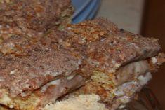 Die Zutaten für den Kuchenteig schaumig rühren und zu einer geschmeidigen Masse mixen. Den Teig in zwei Hälften teilen und in eine Hälfte 2 TL Kakao unterrühren. Dann den hellen und den dunklen Teig jeweils auf ein Backblech mit Backpapier streichen und bei 180° C 15-20 Minuten backen. Für die Creme werden 100 ml kalte