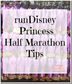 runDisney Princess Half Marathon Tips #Disney #Running