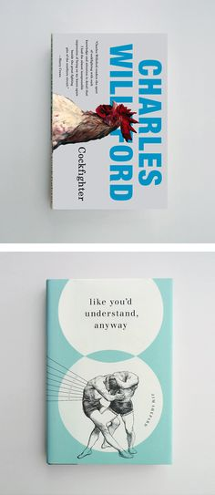 Brilliant Book Covers by Jason Booher | Inspiration Grid | Design Inspiration