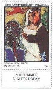 Marc Chagall's Midsummer Night's Dream.