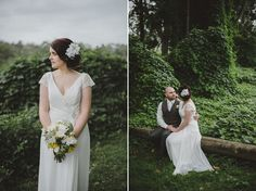 Unstructured yellows, whites and greens for a sweet elopement. www.laurencampbell.com.au www.jademcintoshflowers.com.au