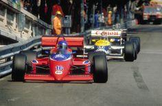 Patrick Tambay, Lola-Ford THL2, Monte-Carlo, 1986