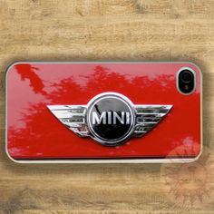 Mini Cooper -iPhone 5 case, iphone 4s case, iphone 4 case,Ipod touch,  Samsung GS3 case - Silicone Rubber or Hard Plastic Case, Phone cover on Etsy, $14.99