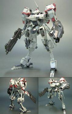 AmiAmi [Character & Hobby Shop]   V.I. Series Armored Core Mirage YC07-CRONUS Vixen Ver. Plastic Kit