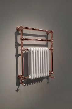 Good Ideas British Made Copper Towel Warmers & Copper Plated Towel Radiators Parents Guide To High C Copper Pipe Fittings, Copper Taps, Plumbing Installation, Towel Radiator, Copper Bathroom, Shower Filter, Cast Iron Radiators, Copper Decor, Towel Warmer