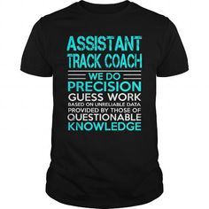 ASSISTANT TRACK COACH - WEDO OLD - #wifey shirt #university tee. SECURE CHECKOUT => https://www.sunfrog.com/LifeStyle/ASSISTANT-TRACK-COACH--WEDO-OLD-Black-Guys.html?68278