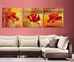 High quality Hand-painted home decor Oil Painting on canvas Restaurant bedroom mural color garden Amount of crying oil painting