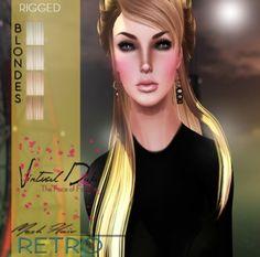 ::VD:: Retro (Mesh Hair) Blondes