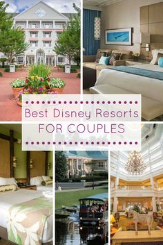 Looking for the perfect romantic Disney getaway? Blogorail Orange shares which resorts are perfect for couples. #Disney #WaltDisneyWorld