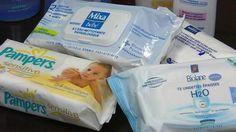 Les lingettes pour bébé contiennent des produits toxiques pour leur santé
