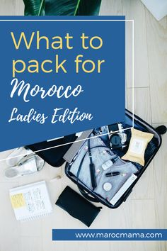Pack for Morocco with ease! This guide walks you through the specifics of what you should bring for your north African adventure. Visit Morocco, Morocco Travel, Sparks Joy, Travel Toiletries, Sounds Good, Konmari, What To Pack, Packing Tips, Us Travel