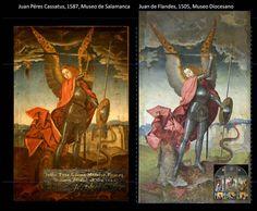 La Pieza del Mes de abril de 2013 en el Museo de Salamanca homenajea a la Catedral Nueva en su V Centenario con esta copia de época de una tabla de un retablo de la catedral de Juan de Flandes. La copia está hecha sólo 80 años después por Juan Pérez Cassatus e incluye detalles que en el original están perdidos.