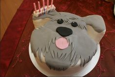 A schnauzer birthday cake! :)