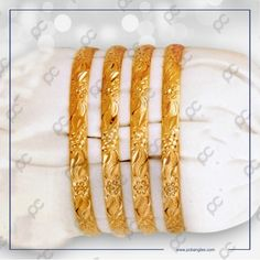 MH18024 Hand Jewelry, Rose Jewelry, Gold Jewellery, Indian Jewelry Sets, Gold Bangles Design, Gold Plated Bangles, Bangle Set, Necklace Designs, Kitchens