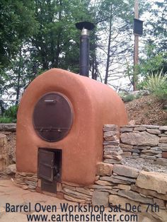 Maricopa, CA Learn how to build (and use) a barrel oven from the ground up! The Barrel Oven is a very practical and wood-efficient oven which can be built at very low cost using mostly natural and recycled mat… Click flyer for more >>