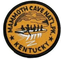 Kentucky Mammoth Cave National Park Iron On Travel Souvenir Applique Patch Cool Patches, Pin And Patches, Iron On Patches, National Park Posters, National Parks, National Park Patches, Mammoth Cave, Patch Shop, Old Navy
