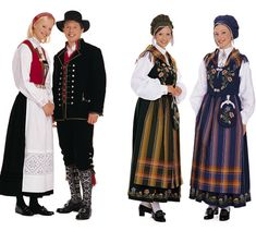 A bunad is a traditional Norwegian costume, typically of rural origin. Bunads are local to Norway's traditional districts, and the result both of traditional evolution and organized efforts to discover. Folk Costume, Costumes, Norwegian Clothing, Norwegian Vikings, Norwegian Style, Doraemon Cartoon, Frozen Costume, Norse Vikings, My Heritage