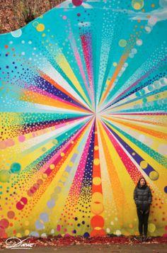 .Dasic FernándeZ.: Underpass Illusion. Newburgh NY. Summer 2012