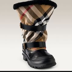 Burberry Snow Boots