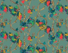 """Check out new work on my @Behance portfolio: """"Pattern of ivy"""" http://be.net/gallery/48256111/Pattern-of-ivy"""