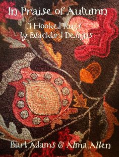This book by Blackbird Designs… (Alma Allen and Barb Adams) does a wonderful job providing basic instructions, supply lists, full size patterns