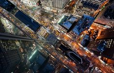 (via Intersection | NYC – Night on Behance) #photography #NYC #night