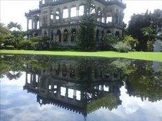 """The Ruins, Bacolod City Known as the """"Taj Mahal of Negros"""" Bacolod City, Taj Mahal, Mansions, House Styles, Unique, Home, Black, Manor Houses, Villas"""