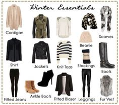 ladies essential winter wardrobe - Yahoo Image Search Results