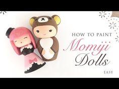 How to paint momiji dolls