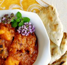 Easy Tomato Potato Chicken Curry - a delicious, nutritious and very easy to prepare complete curry dinner.