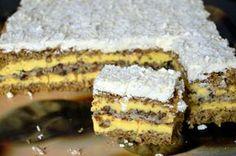 Prajitura Victoria |  MiremircMiremirc | ... bucataria in imagini Romanian Desserts, Romanian Food, Desert Recipes, Easy Desserts, Cake Recipes, Sweet Treats, Sweets, Victoria, Cooking