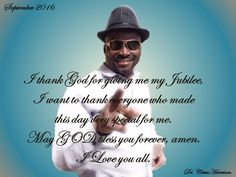 Apostle Cletus Harrison Jubilee