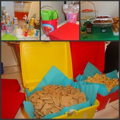 Food for Sesame Street birthday party