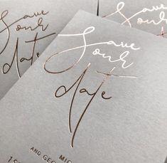 17 Trendy Wedding Invites Letterpress Save The Date Beach Wedding Invitations, Wedding Stationary, Invites, Minimal Wedding, Trendy Wedding, Wedding Card Design, Wedding Designs, Wedding Paper, Wedding Cards