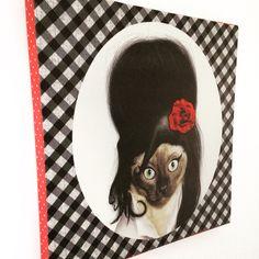 #accessoire #décoration #tableau #toile #Amy #art #chat #rigolo #coloré #objet #deco #decalé #pop_rock #exclusivité #fificanarishop #home #home_intérieur #designer #créateur #shop #e_shop #lille #lillemaville fifi-canari.com