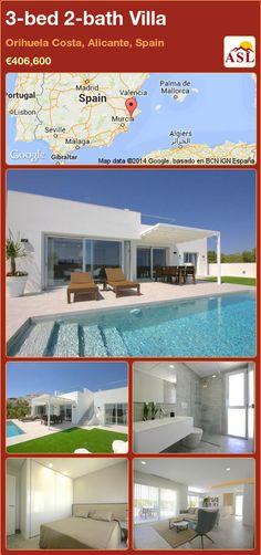 3-bed 2-bath Villa in Orihuela Costa, Alicante, Spain ►€406,600 #PropertyForSaleInSpain
