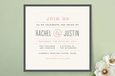 Calendar Finish Wedding Invitations by Jennifer Wick at minted.com
