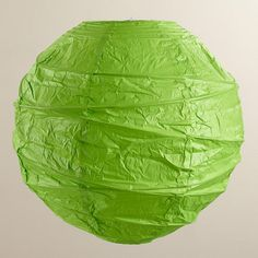 Our exclusive Green Maru Round Paper Lantern creates a wonderful romantic ambiance that's perfect for weddings, birthday celebrations or casual entertaining. Jack Fire, Basement Lighting, White Rooms, World Market, Paper Lanterns, Light Colors, Table Lamp, Green, Boho Gypsy