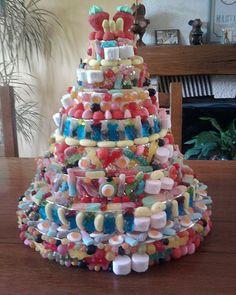 pyramides de bonbons sur commande
