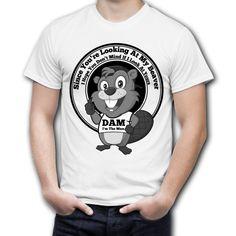 Dam the beaver teeshirt