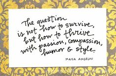 Maya Angelou spoke at Elon last week and absolutely blew me away.