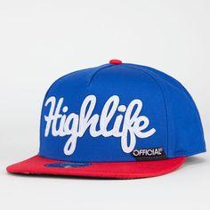 43c2b34e51b5d OFFICIAL Highlife Mens Snapback Hat 212347249