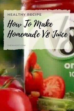 How To Make Homemade Juice Recipe ~ ahsen Homemade Tomato Juice, Canned Tomato Recipes, Canning Recipes, Easy Juice Recipes, Juicer Recipes, Ninja Recipes, Blender Recipes, Drink Recipes, Yummy Recipes