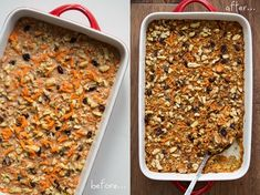 carrotcakeoatmeal   Heavenly Carrot Cake Baked Oatmeal