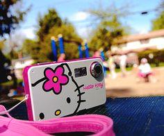 hello kitty camera ~ sooooo CUTE!