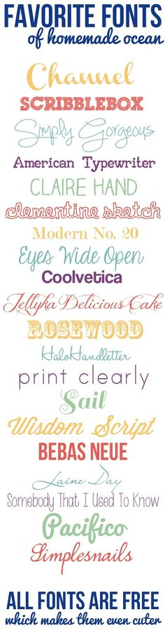 """Custom Decal ideas from other Pinners -Fonts - """"saving for scribblebox font. Free fonts"""" - Turn it into a decal @ https://www.etsy.com/listing/124790919/custom-vinyl-lettering-vinyl-decals?ref=shop_home_active"""
