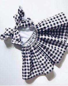 Trendy sewing clothes kids children little girls 23 ideas Fashion Kids, Little Girl Fashion, Toddler Fashion, Toddler Dress, Toddler Outfits, Toddler Girl, Kids Outfits, Baby Dress Patterns, Cute Baby Clothes