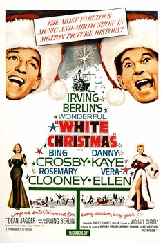 White Christmas Movie Poster by ~FanMania on deviantART